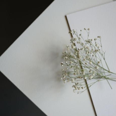 60サイズ:基本の白い漆喰のスタイリングボードbasic white