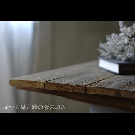 60サイズ:木のテーブルピュアホワイトのスタイリングボード