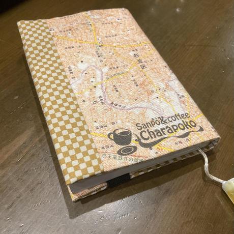 ちずブックカバー【東高円寺MAP】文庫用  ビールチャーム