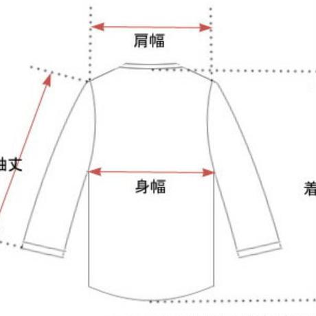 【UNISEX】葛飾北斎 AJISAI Longsleeve T-shirt(WHITE)