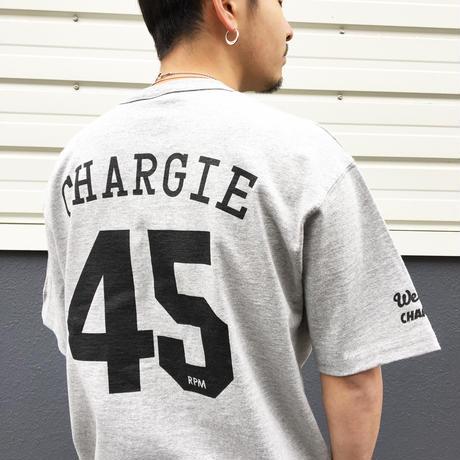 """【受注生産アイテム】Wedge×CHARGIE(ウェッジ×チャージー)Champion 7oz Heavy Weight SS TEE """"45RPM""""(4カラー)"""
