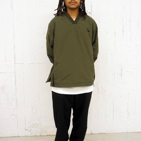 FLATLUX(フラットラックス)【MARK GONZALES x FLATLUX】Schultz Wind Shirt(2カラー)/FX20-603