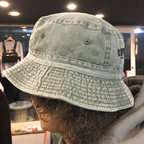 """CHARGIE(チャージー)""""BE WISE""""Backet Hat(3カラー)バケットハット 刺繍 オリジナル"""
