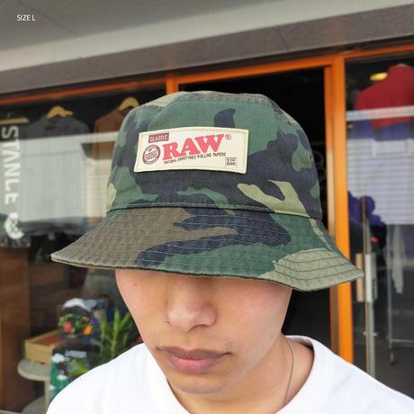 "INTERBREED(インターブリード)RAW × INTERBREED ""Rollers bucket Hat"" / Camo"
