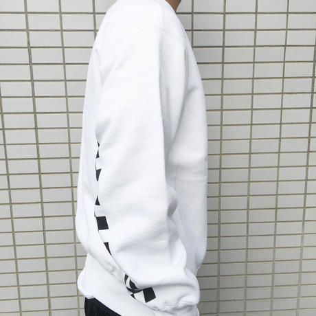 【UNISEX】Boobs Sweatshirt(ホワイト)