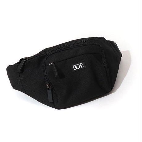 DOPE(ドープ)Box Logo Body Bag Black