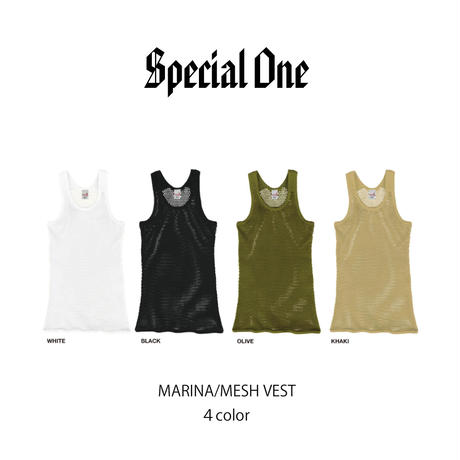 Special One(スペシャルワン)MARINA/MESH VEST(4カラー)