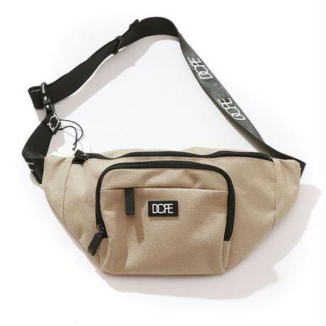 DOPE(ドープ)Box Logo Body Bag Tan