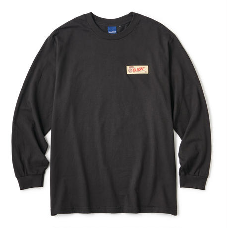 "INTERBREED(インターブリード)RAW × INTERBREED ""RAW Organic LS Tee"" / Black"