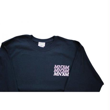 【UNISEX】葛飾北斎 AJISAI Longsleeve T-shirt(BLACK)