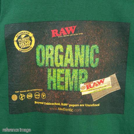 """INTERBREED(インターブリード)RAW × INTERBREED """"RAW Organic LS Tee"""" / Forest Green"""