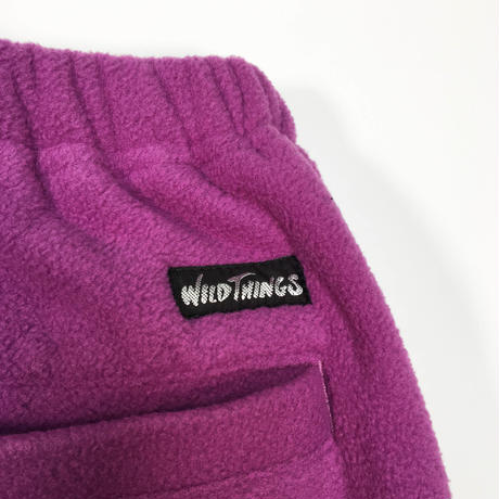 WILD THINGS(ワイルドシングス)FLEECE MAGIC TRACK(パープル)WT19135PA フリース アウトドア 軽量 防寒