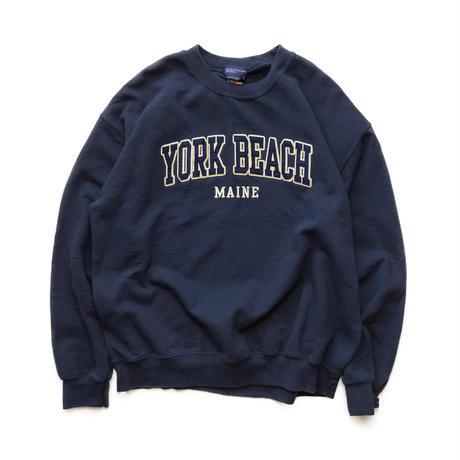 MV SPORTS/YORK BEACH CREW NECK/Navy/Used