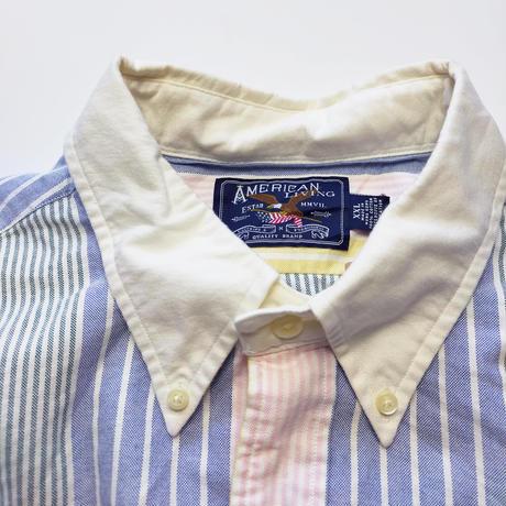 AMERICAN LIVING/B.D Stripe Shirts/Multi/Used