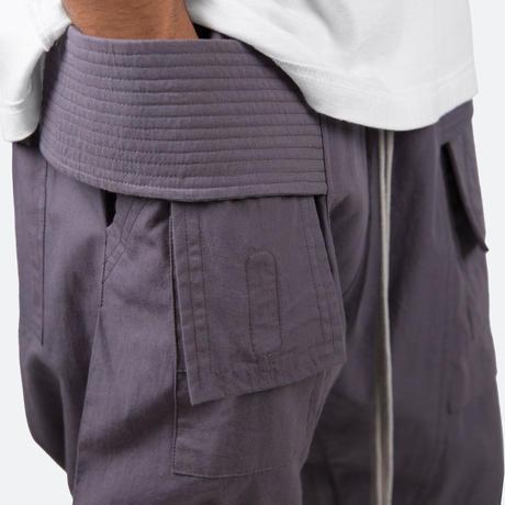mnml(ミニマル)DROP CROTCH CARGO PANTS(CHARCOAL GREY)ドロップ クロッチ カーゴ パンツ