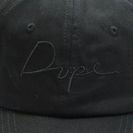 DOPE(ドープ)Dope Script Cap AllBlack