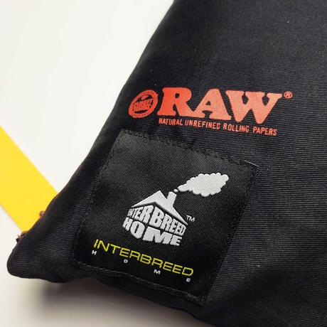 """INTERBREED(インターブリード)RAW × INTERBREED """"Kings Pillow"""" / Black"""