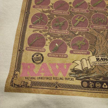 "INTERBREED(インターブリード)RAW × INTERBREED ""Tree of RAW Hoodie"" / Natural"
