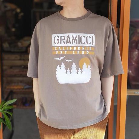 GRAMICCI(グラミチ)SUNSET SLIT TEE(2カラー)サンセットスリットTシャツ