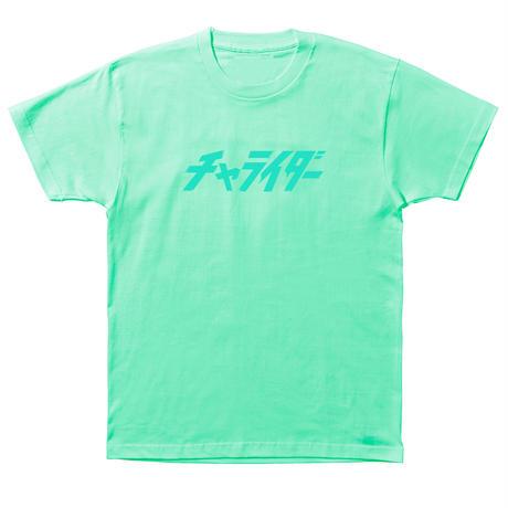 パステルスタンダードロゴTシャツ  ライトグリーン