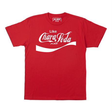 チャラソーダTシャツ レッド