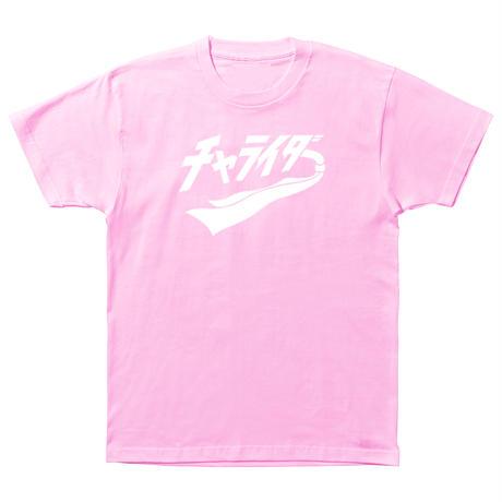 スカーフロゴティーシャツ ピンク