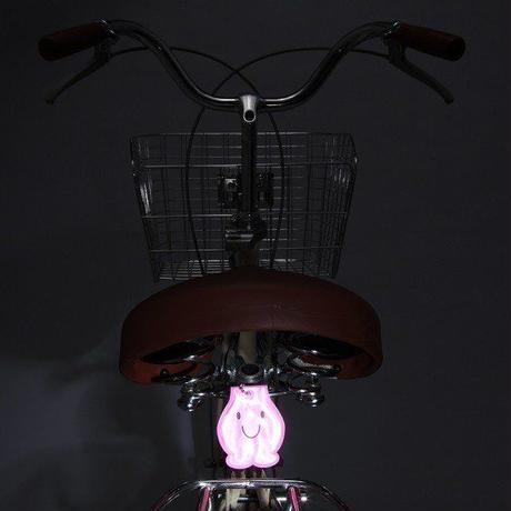 自転車用反射クリップ 夜間安全 妖精 ANGEL 川住製作所