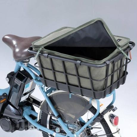 自転車 2段式インナーカバー リアタイプ  後ろカバー おしゃれ 撥水 防水 川住製作所 860KH 860NV