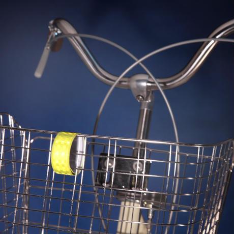反射リストバンド 自転車 夜間 ウォーキング 犬の散歩  川住製作所 KW91