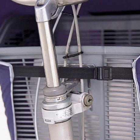 自転車前カゴカバー サイクルエプロンPU ネイビー  アウトレット 撥水防水 川住製作所 KW285