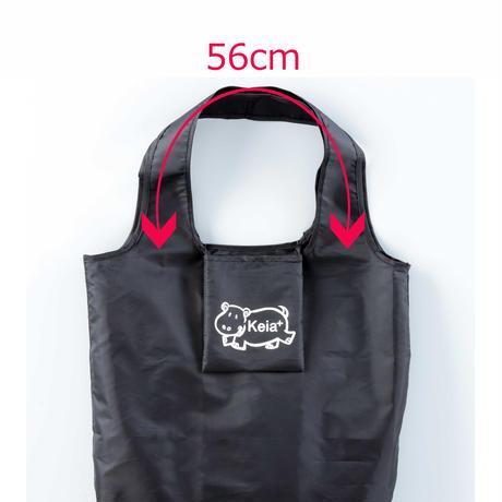 keia+エコバッグ  川住製作所 男女兼用 大容量 スーパー コンビニ レジ袋 カーキ EB-103KH3
