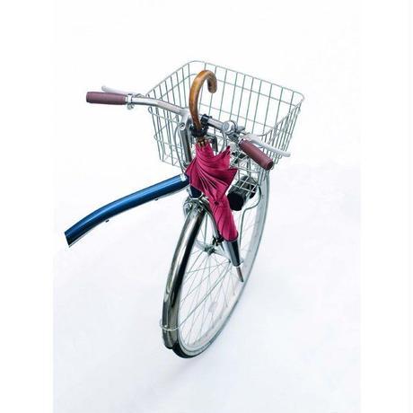 自転車用カサホルダー 傘の持ち運び ブラック シルバー  川住製作所 70BK・SL