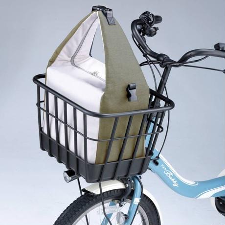 3WAY 保冷バッグ おしゃれ バスケットINN リュック 肩掛け 手提げ 自転車前カゴ・後カゴ 川住製作所 KW-830KH KW-830NV