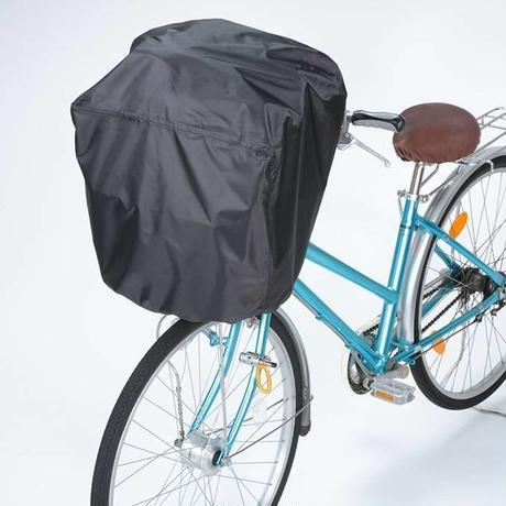 前後兼用すっぽりかぶせるカバー  川住製作所 自転車 前カゴカバー 後ろカゴカバー 学生カバンやスポーツバッグもカバー  撥水防水