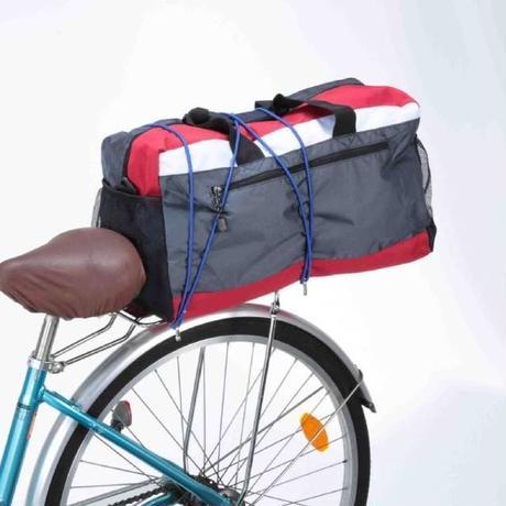 自転車 キャリア用 すっぽりかぶせるカバー  学生カバンやスポーツバッグもカバー