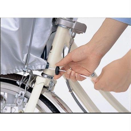 自転車 カゴカバー フロントバスケットカバー 在庫処分 アウトレット  川住製作所 250F