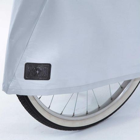 3Dサイクルカバー 自転車カバー 高級生地使用 シルバー   撥水 川住製作所 KW377SL