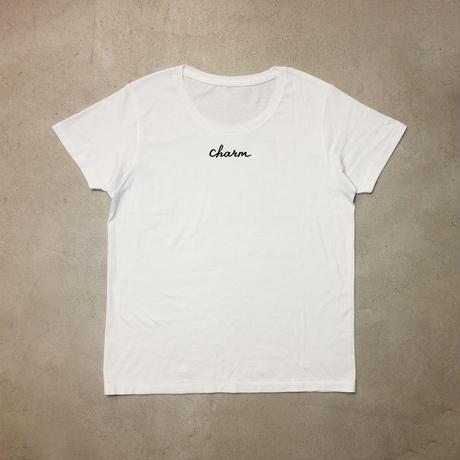 【予約】charmロゴTシャツ【送料無料】