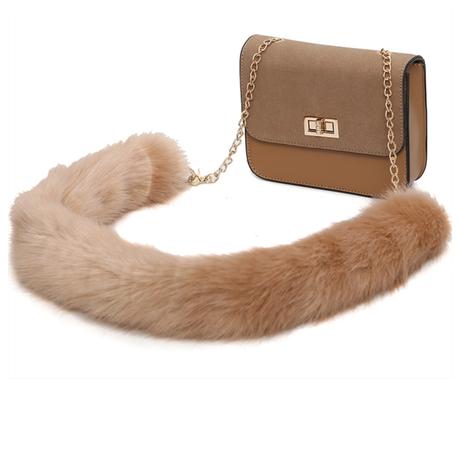 【予約】fur chain bag