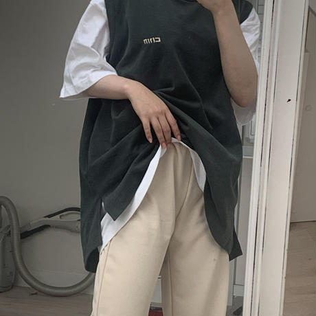 long No sleeve 【dark green】