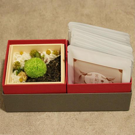 宇治橋_お茶(煎茶)とのギフトセット