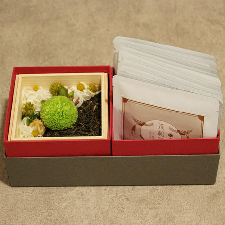 宇治駅_お茶(煎茶)とのギフトセット