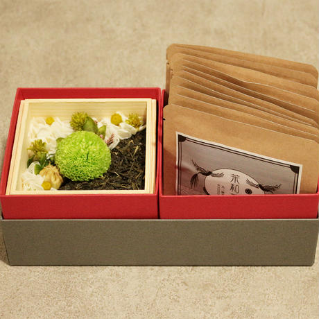 宇治橋_お茶(和紅茶)とのギフトセット