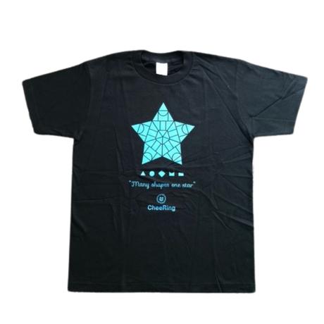 Many shapes one star Uネック