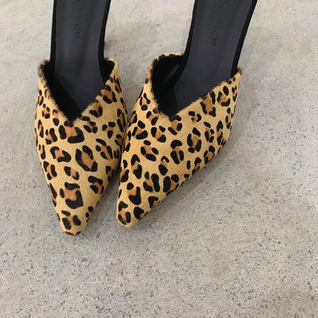 leopard  ハラコ mule