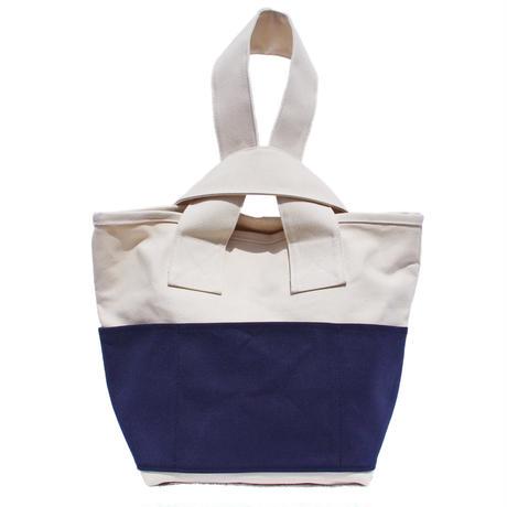 CLOUCHY SHOULDER BAG (キナリ×ネイビー)