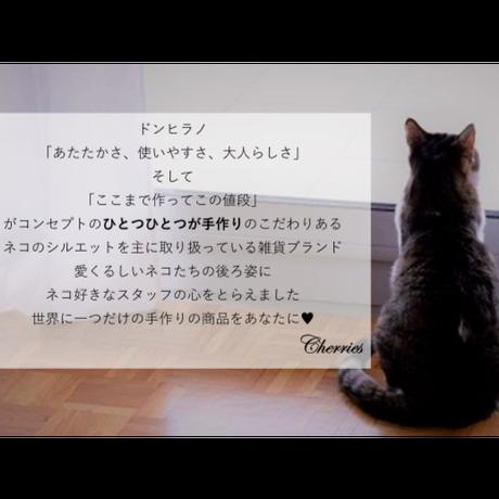 四六サイズ♥かわいいネコのブックカバー