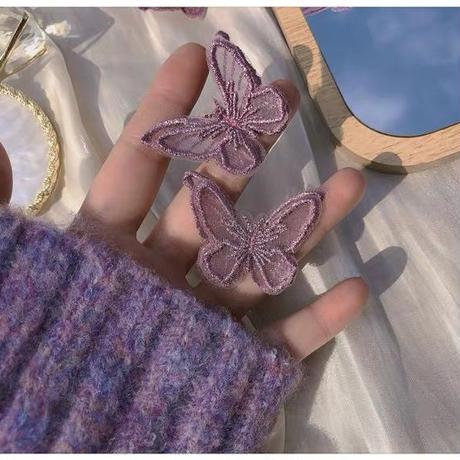 パープルの蝶々シリーズ