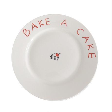 BAKE A  CAKE プレート