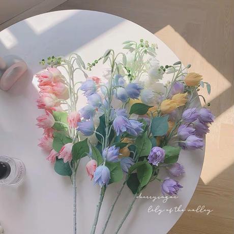 すずらんの造花